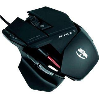 Mad Catz R.A.T 3 Gaming Mouse USB schwarz glänzend (kabelgebunden)