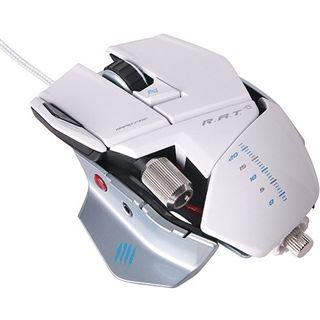 Mad Catz R.A.T 5 Gaming Mouse USB weiß (kabelgebunden)