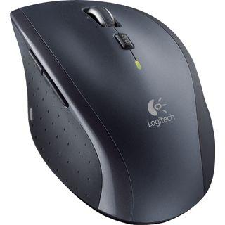 Logitech M705 Marathon Maus USB schwarz (kabellos)