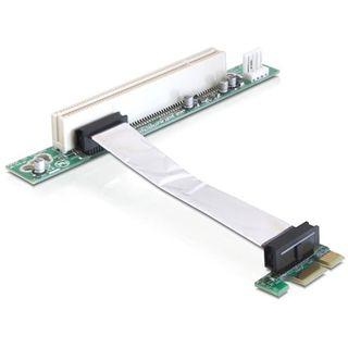 Delock PCIe x1 Riser Card für PCI 32Bit 5 V Karten (41856)