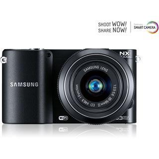 Samsung NX1000 Kit 20-50mm Systemkamera schwarz