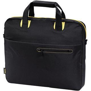 Hama Notebook-Tasche San Francisco 40 cm (15,6) Schwarz/Gelb