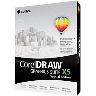 Corel CorelDraw Graphics Suite X5 - Special Edition 32/64 Bit Multilingual Grafik Vollversion PC (DVD)
