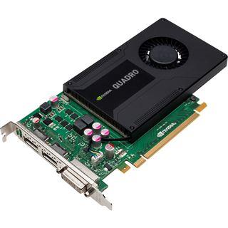 2GB PNY Quadro K2000 Aktiv PCIe 2.0 x16 (Retail)