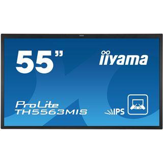 "55"" (139,70cm) iiyama ProLite TH5563MIS schwarz 1920x1080 1xHDMI 1.3/1xVGA/1xDVI/1xComposite/S-Video/seriell"