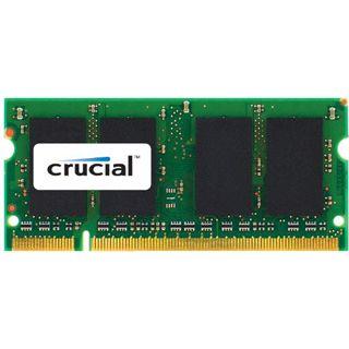 2GB Crucial DDR3 1066 MT/S CL7