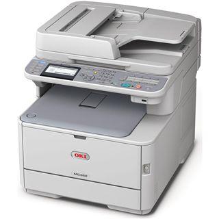 OKI MC342dnw Farblaser Drucken/Scannen/Kopieren/Faxen LAN/WLAN