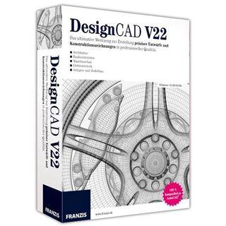 Franzis Design CAD V22 32/64 Bit Deutsch Grafik Vollversion PC (CD)