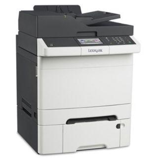 Lexmark CX410dte Farblaser Drucken/Scannen/Kopieren/Faxen LAN/USB 2.0