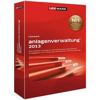 Lexware Anlagenverwaltung 2013 32/64 Bit Deutsch Office Vollversion PC (CD)