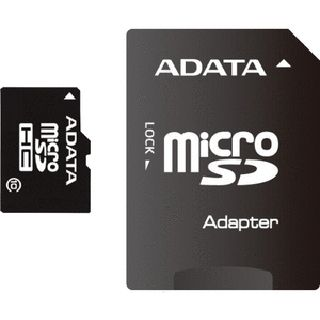 32 GB ADATA microSDHC Class 10 Retail inkl. Adapter