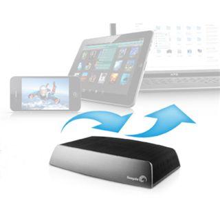 """3000GB Seagate Central STCG3000200 3.5"""" (8.9cm) USB 2.0 schwarz/alu"""