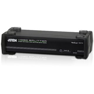 ATEN Technology VS174-AT-G 4-fach DVI-A/V-Splitter