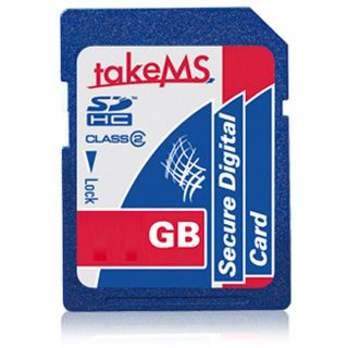 8 GB takeMS SDHC Class 10 Retail
