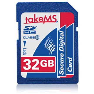 32 GB takeMS SDHC Class 4 Retail