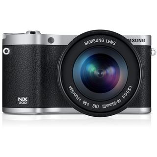 Samsung NX300 inklusive 18-55 mm schwarz