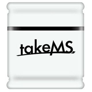4 GB takeMS MEM-Drive Exo weiss USB 2.0
