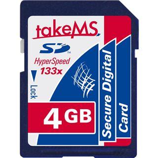 4 GB takeMS 133x SD Class 10 Retail