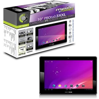 """10.1"""" (25,65cm) Point of View ProTab 3XXL WiFi/Bluetooth V3.0 8GB schwarz"""