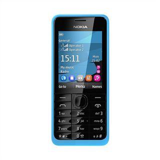 Nokia 301 256 MB cyan