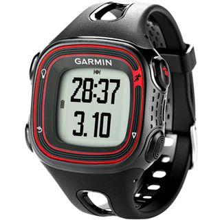 Garmin GPS Lauf-Uhr Forerunner 10, schwarz/rot