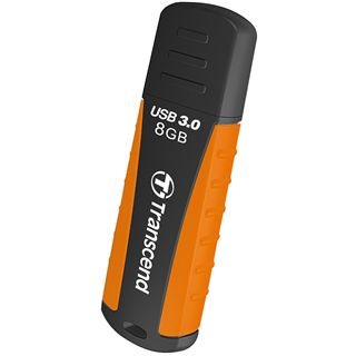 8 GB Transcend JetFlash 810 schwarz/orange USB 3.0