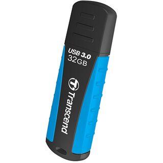 32 GB Transcend JetFlash 810 schwarz/blau USB 3.0