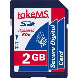 2 GB takeMS 60x SD Retail