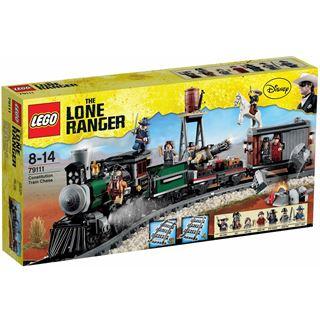 Lego The Lone Ranger - Eisenbahnjagd