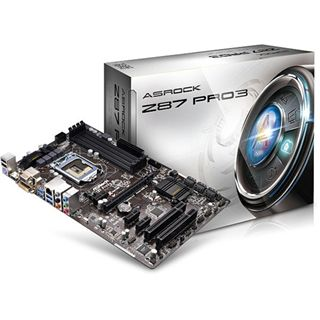 ASRock Z87 Pro3 Intel Z87 So.1150 Dual Channel DDR3 ATX Retail