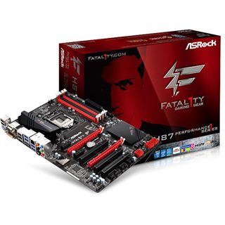 ASRock Fatal1ty H87 Performance Intel H87 So.1150 Dual Channel DDR3 ATX Retail