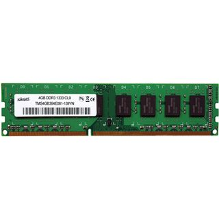 4GB takeMS TMS4GB364E081-139EM DDR3-1333 DIMM CL9 Single