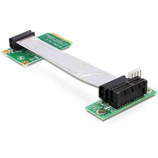 Delock PCI Express x1 rechts gerichtet Riser Card für Mini PCI Express (41851)