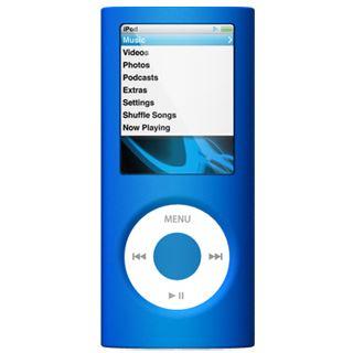 SwitchEasy Colors Bleu (SW-CN4-BLU): Silikon Protection Solution für iPod nano 4G