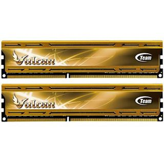 8GB TeamGroup Vulcan Series gold XMP DDR3-1866 DIMM CL9 Dual Kit