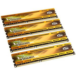 32GB TeamGroup Vulcan Series gold DDR3-1866 DIMM CL9 Quad Kit