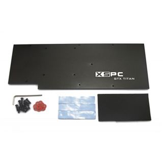 XSPC Razor GTX Titan/780 Backplate für NVIDIA GTX Titan, GTX 780 (5060175584083)