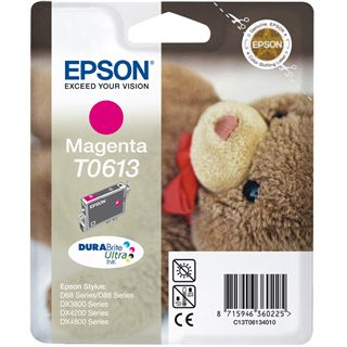 Epson INK CARTRIDGE T0613 magenta