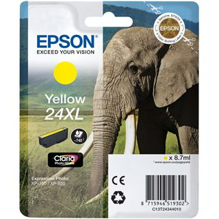 Epson 24XL SERIES ELEPHANT YELLOW IN