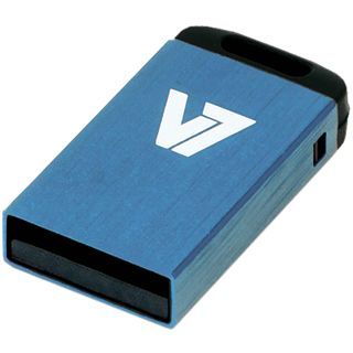 8 GB V7 Nano blau USB 2.0