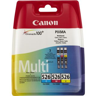 Canon CLI-526 C/M/Y PACK SEC