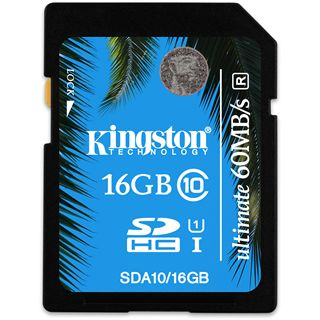 16 GB Kingston UHS-I SDHC Class 10 Retail