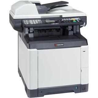 Kyocera FS-C2126MFP+ Farblaser Drucken/Scannen/Kopieren/Faxen LAN/USB 2.0