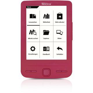 "4.3"" (10,92cm) TrekStor e-Book Reader Pyrus mini pink"