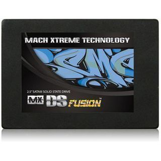 "120GB Mach Xtreme Technology DS-Fusion GT 2.5"" (6.4cm) SAT MLC asynchron (MXSSD3MDSFG-120G)"