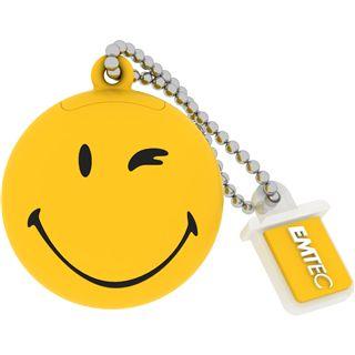 8 GB EMTEC Smiley World SW100 Take it easy gelb USB 2.0