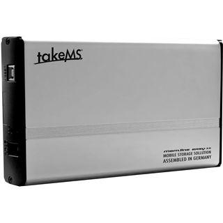 "takeMS mem.line EASY 3.5"" (8,89cm) USB 2.0 silber"