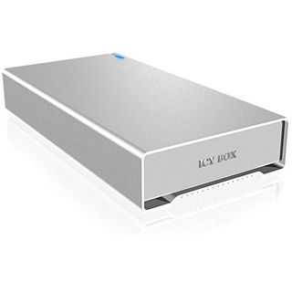"ICY BOX IB-328U3SEB 3.5"" (8,89cm) eSATA/FireWire/FireWire 800/USB 3.0 silber"