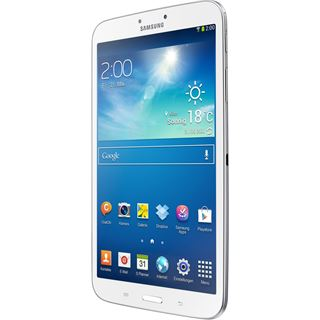 "8.0"" (20,32cm) Samsung Galaxy Tab 3 WiFi/UMTS/Bluetooth V4.0 16GB weiss"