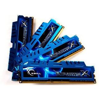 32GB G.Skill RipJawsX DDR3-2400 DIMM CL11 Quad Kit